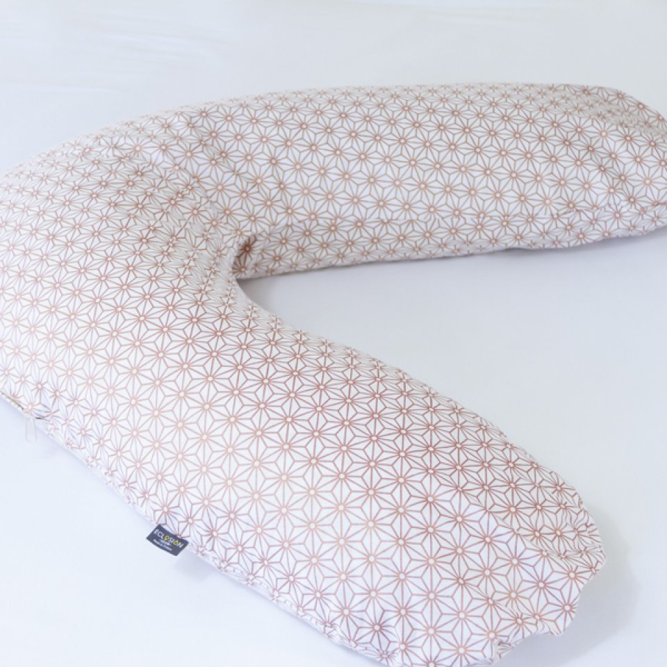 Pregnancy pillow case- one size, copper color