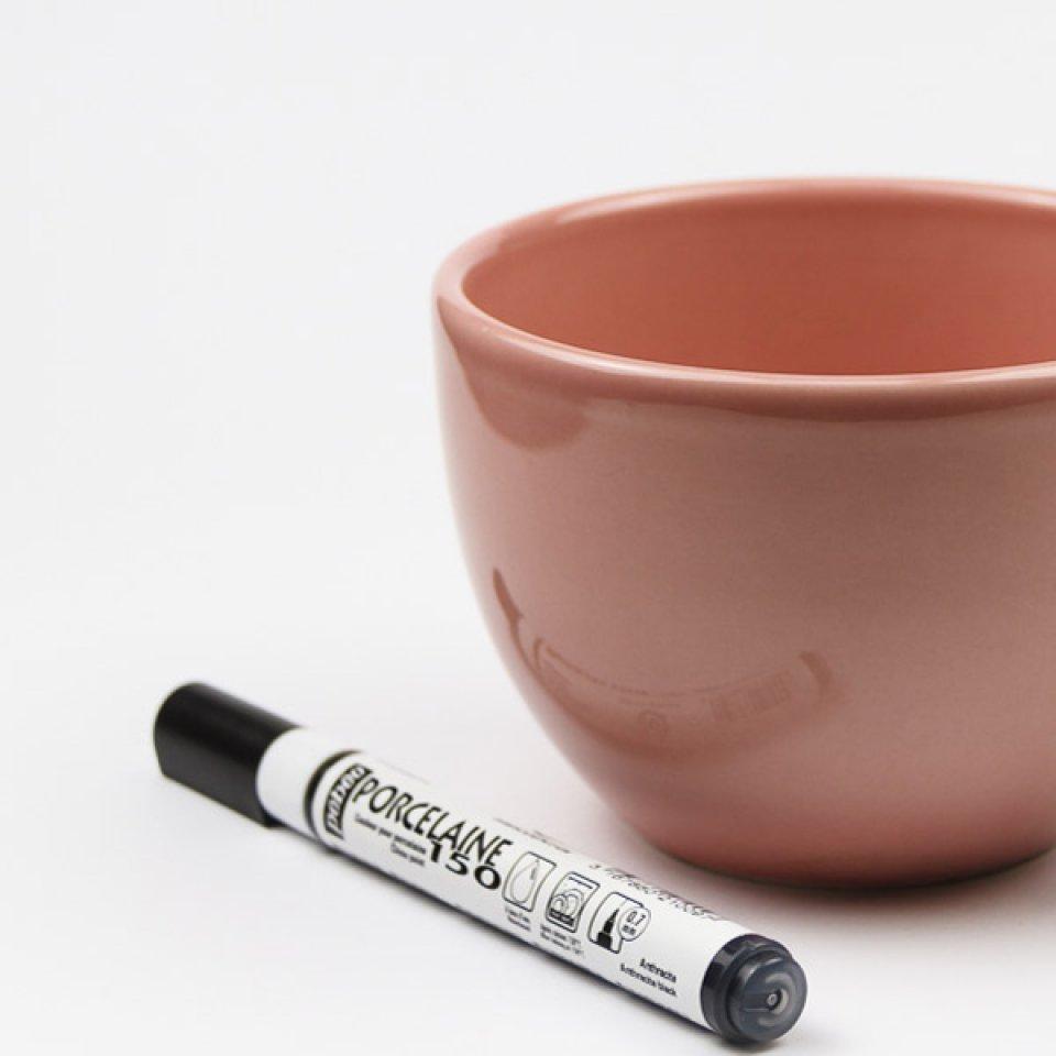 stylo feutre porcelaine d 39 annonce de grossesse. Black Bedroom Furniture Sets. Home Design Ideas